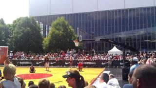 Portland street jam dunk contest 2011