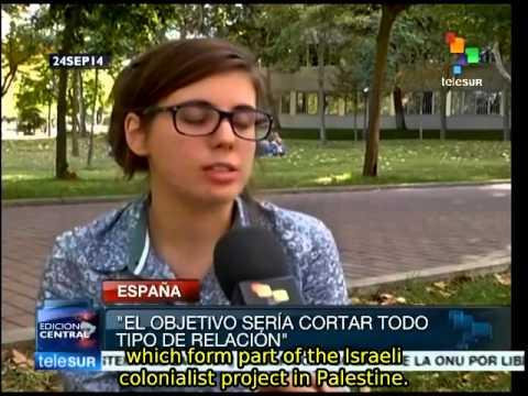 Spanish University Students And Professors Call For Boycotting Israel