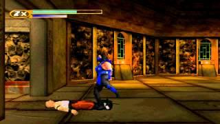 Mortal Kombat Mythologies Sub-Zero Mission 1: Shaolin Temple (N64 EMULATOR HD)