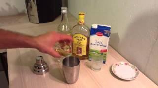 Faire Un Whisky Milk Punch - Préparation Cocktail à Base De Whiskky