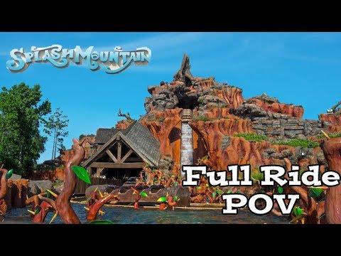 Splash Mountain Full Ride POV HD