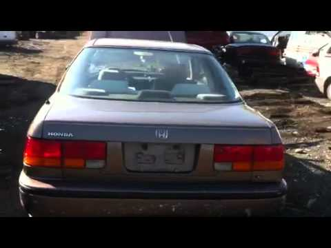1990 Honda Accord Coupe Youtube
