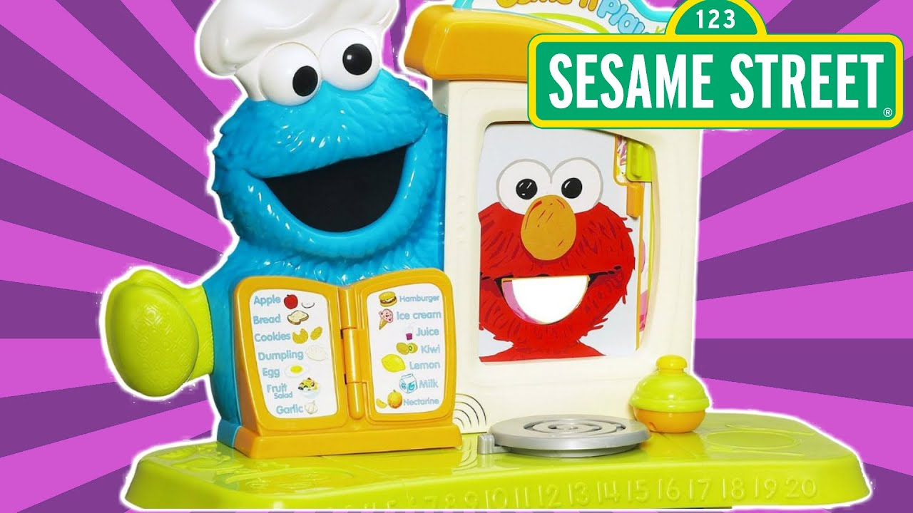 Let S Cook With Cookie Monster S Kitchen Cafe By Sesame Street Youtube