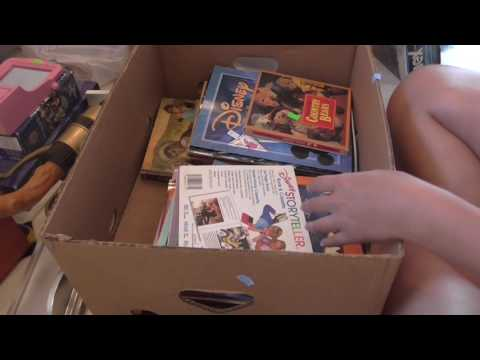 Huge Thrift Store Haul! Vinylmation, Disney,Books, Build A B