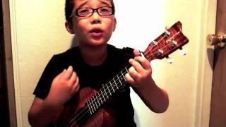 """Aidan James (2011) - Adele's """"Someone Like You"""" - Acoustic Ukulele Cover"""
