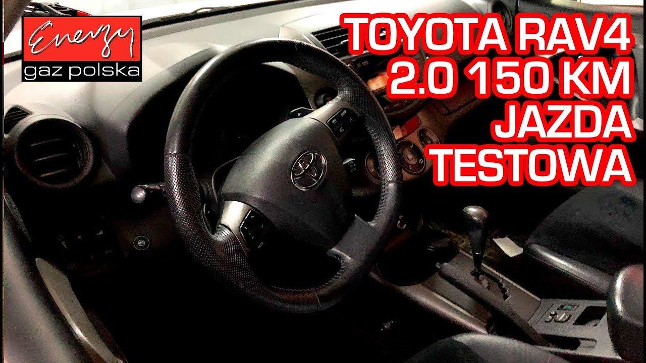 Jazda próbna testowa: Test LPG Toyota RAV4 z 2.0 150KM 2014r w Energy Gaz Polska na gaz BRC SQ 32