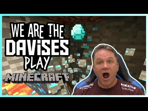 Diamonds Baby!!! | Minecraft EP-3 | We Are The Davises Gaming
