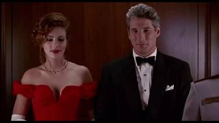 Julia Roberts Pretty Woman Red Dress Evening Prom Gown