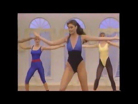 Carol Alt AEROBICS lite workout (1989) chessy 80s classic