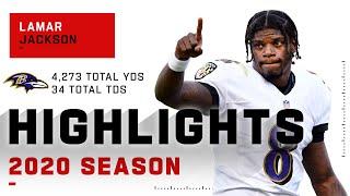Lamar Jackson Full Season Highlights
