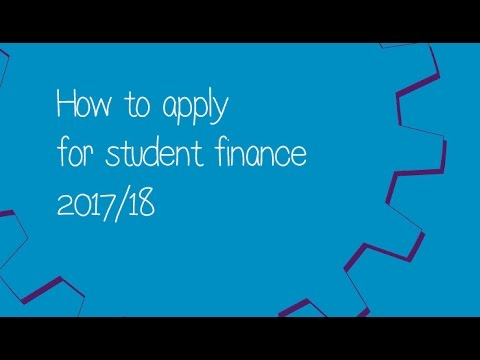 Applying for student finance 2017/18