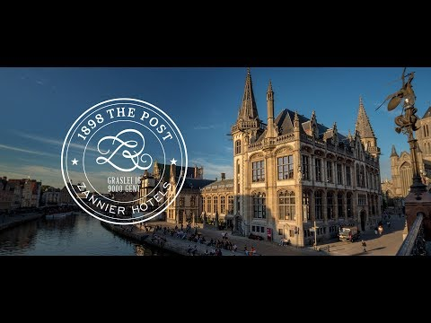 1898 The Post Hotel | Zannier Hotels | Ghent, Belgium
