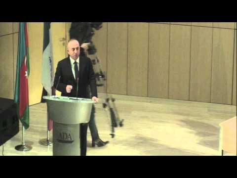 Public Lecture: Minister of Foreign Affairs of Turkey H.E. Mevlut Cavushoglu
