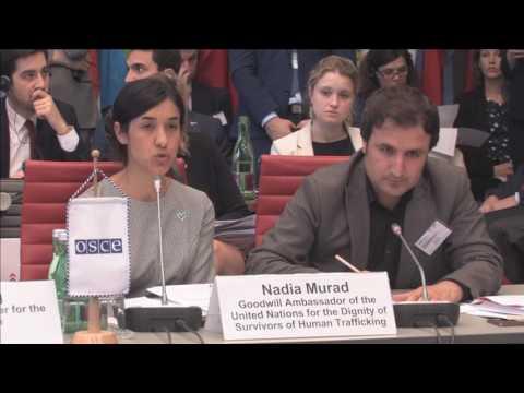 Nadia Murad Speech at Opening session:...