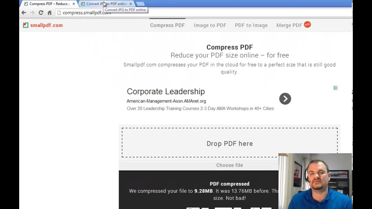 best pdf compress online to 2 mb