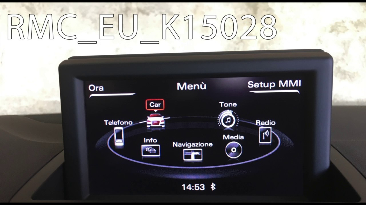 Update MMI G RMC Audi A To Firmware RMCEUKXX YouTube - Audi mmi update
