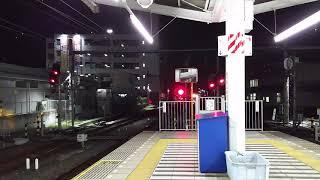 西武 10000系 飯能駅到着 急遽、4番ホーム発着に変更