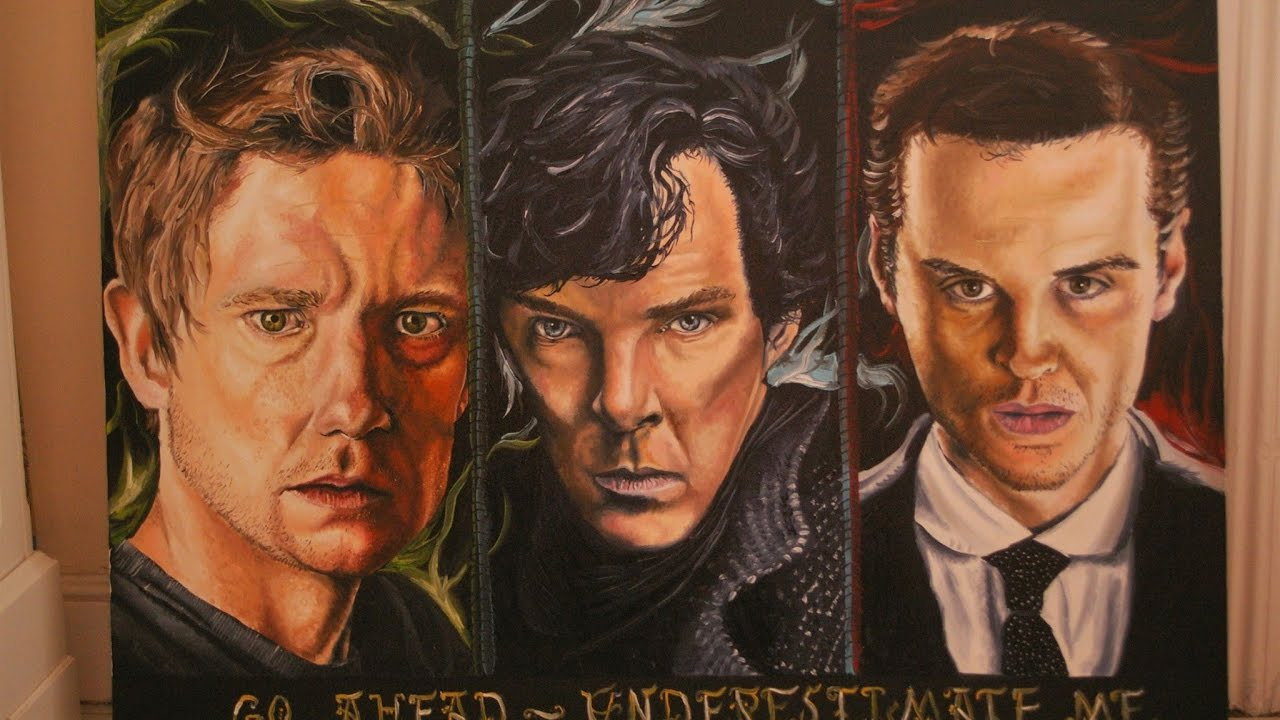 Sherlock Painting Giveaway!
