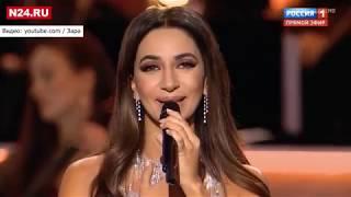 Зара спела песню Захаровой на концерте в Кремле