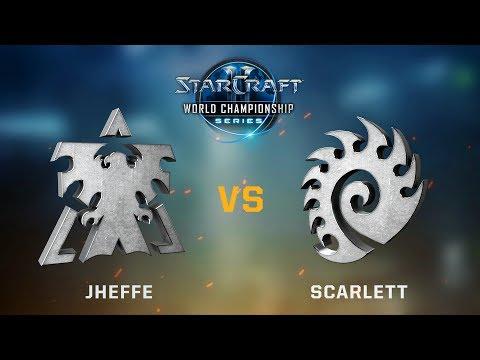 StarCraft 2 - jheffe vs. Scarlett (TvZ) - WCS Jönköping Challenger NA - Qualifier #1