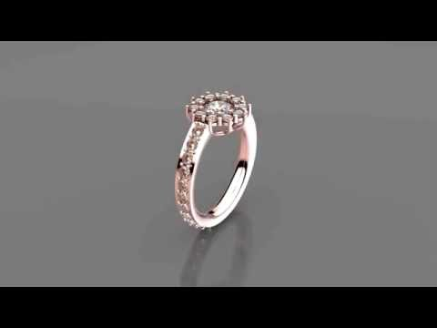 White Gold Engagement Ring - Where and What to Buy