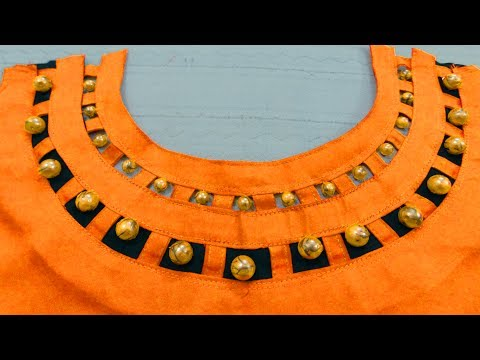 Pearl Boat Neck Design For Kurti Latest Neck Designs Bst Youtube