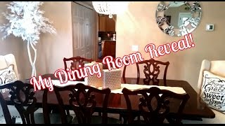 My Dining Room Reveal!