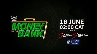 WWE | Money In The Bank | LIVE on SuperSport