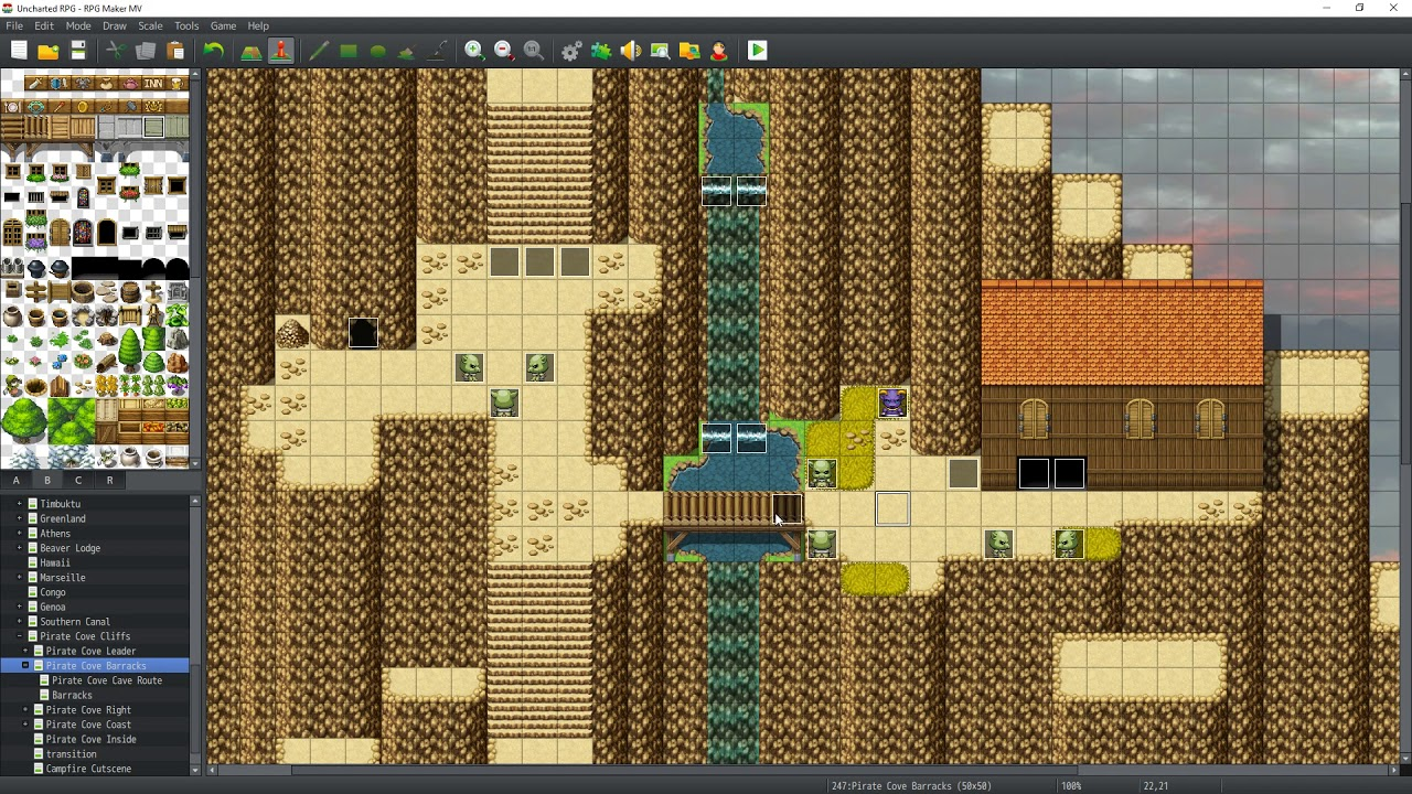 RPG Maker MV : The Making of A Game - 36b