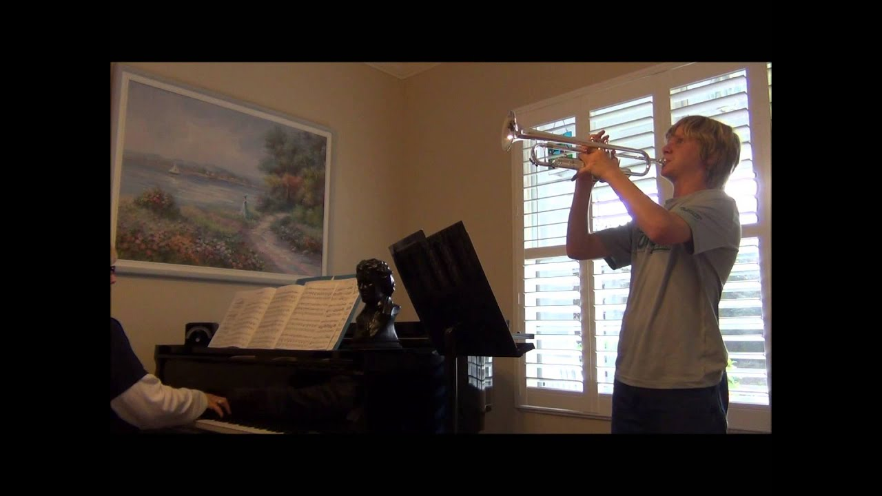 Jonathon 2013 Trumpet Solo