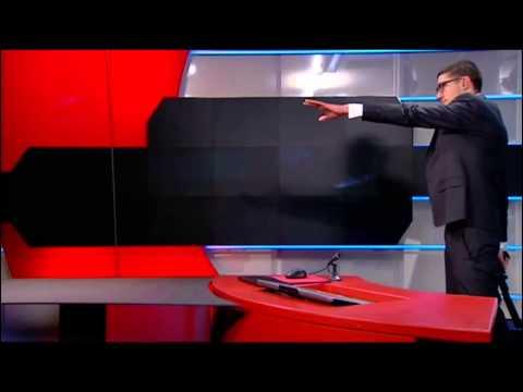 News Studio Terrorist (subtitles) - Netherlands Hilversum 29-1-2015