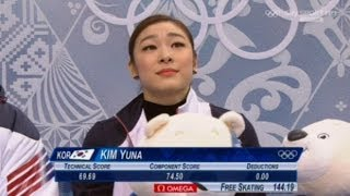 Yuna Kim | WINS GOLD | Free Skating | 2014 Sochi Winter Olympics | Full Video HD