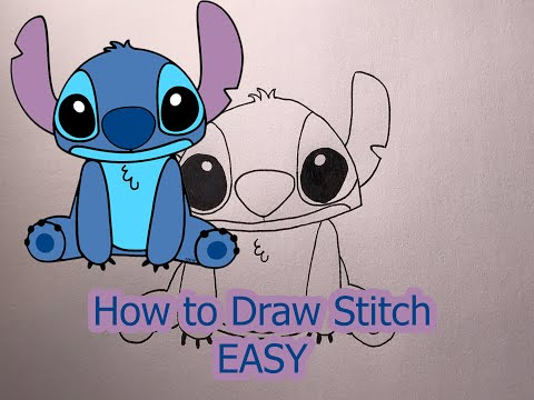 How to Draw Stitch Easy Drawing Tutorials