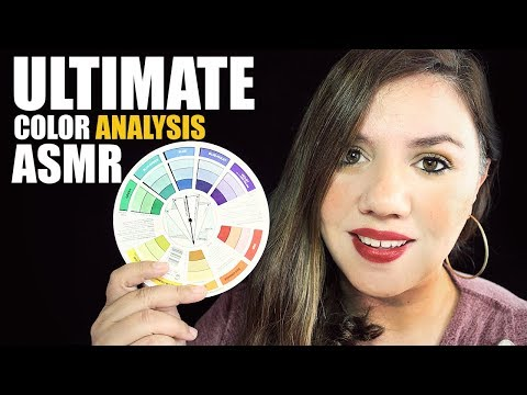 ASMR ULTIMATE COLOR ANALYSIS Role Play | Soft Spoken