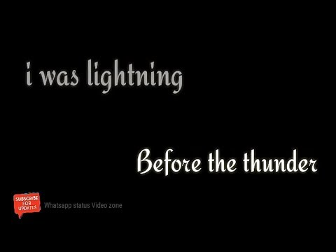 Imagine Dragon - Thunder Sweet Whatsapp Status Video ( English Song )
