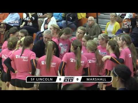 10.02.2017 Marshall High School Volleyball vs. Sioux Falls Lincoln