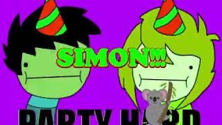 Happy Birthday Simon - Simon's Birthday Song - Simon's Birthday Party