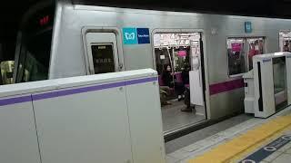 【九段下駅撮影不可に】東京メトロ半蔵門線九段下駅にホームドア本体が設置されました