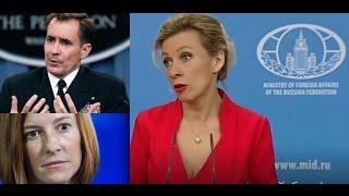 Zakharova tells State Department, BBC where to go ...