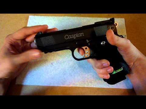 -TREV-Gun Review: We-Tech Caspian 3.8 Hi-Capa gas pistol
