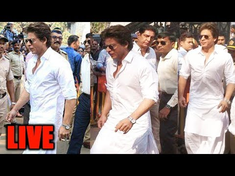Shahrukh Khan Arrives At Crematorium | Sridevi's Funeral Live Updates | Sridevi RIP