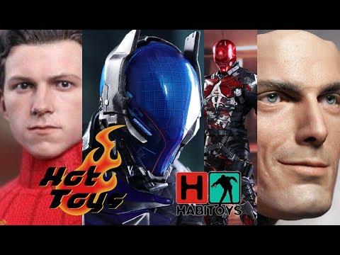 HABI Noticias! HOT TOYS Arkham Knight, SPIDERMAN HOMECOMING Cabeza sin mascara y mas!!