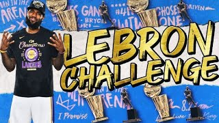 THE LEBRON JAMES CHALLENGE IN NBA 2K21