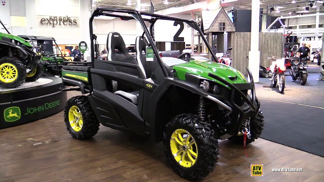 John Deere Side By Side >> 2018 John Deere Gator Rsx 860 I Side By Side Atv Walkaround 2017