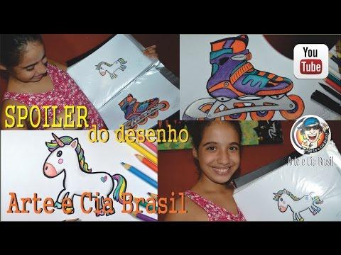 SPOILER do desenho NOVO do Canal  Arte e Cia Brasil