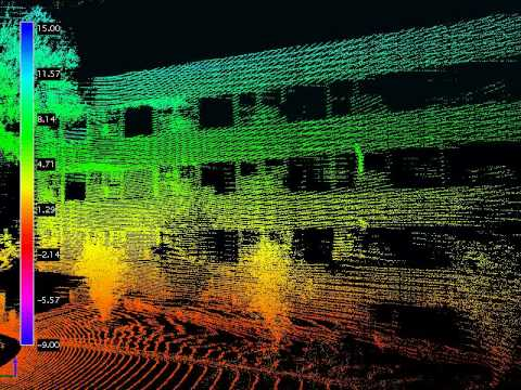 3D Lidar scan fly through of Stevens Lower Campus - ROAMS