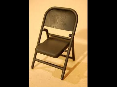 Steel Chair In Wwe Dining Covers Walmart Canada Homemade Foldable Tutorials Youtube