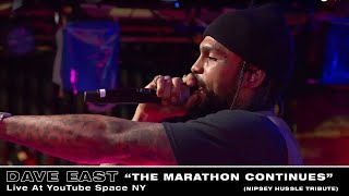Dave East - The Marathon Continues (Live At YouTube Space NY)