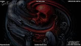 SIX FEET UNDER - ZOMBIE BLOOD CURSE LYRICS