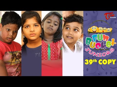 Fun Bucket JUNIORS | Episode 39 | Kids Funny Videos | Comedy Web Series | By Sai Teja - TeluguOne